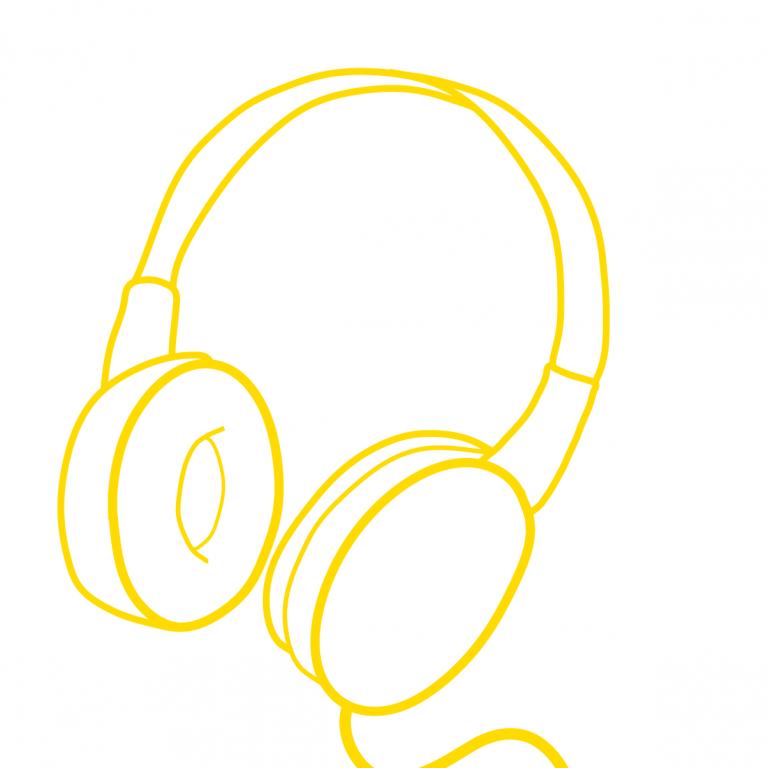 Illustration Kopfhörer